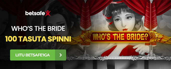 Betsafe Who's the Bride tasuta spinnid