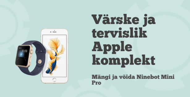 Võida Pafi Lucky Casinoga iPhone 6 ja Apple spordikell