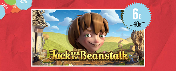 Saa 20 tasuta Jack and the Beanstalk spinni